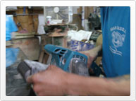 beveled glass making